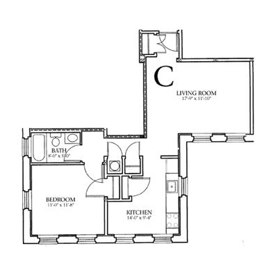 Floor Plans Astor Court Apartments